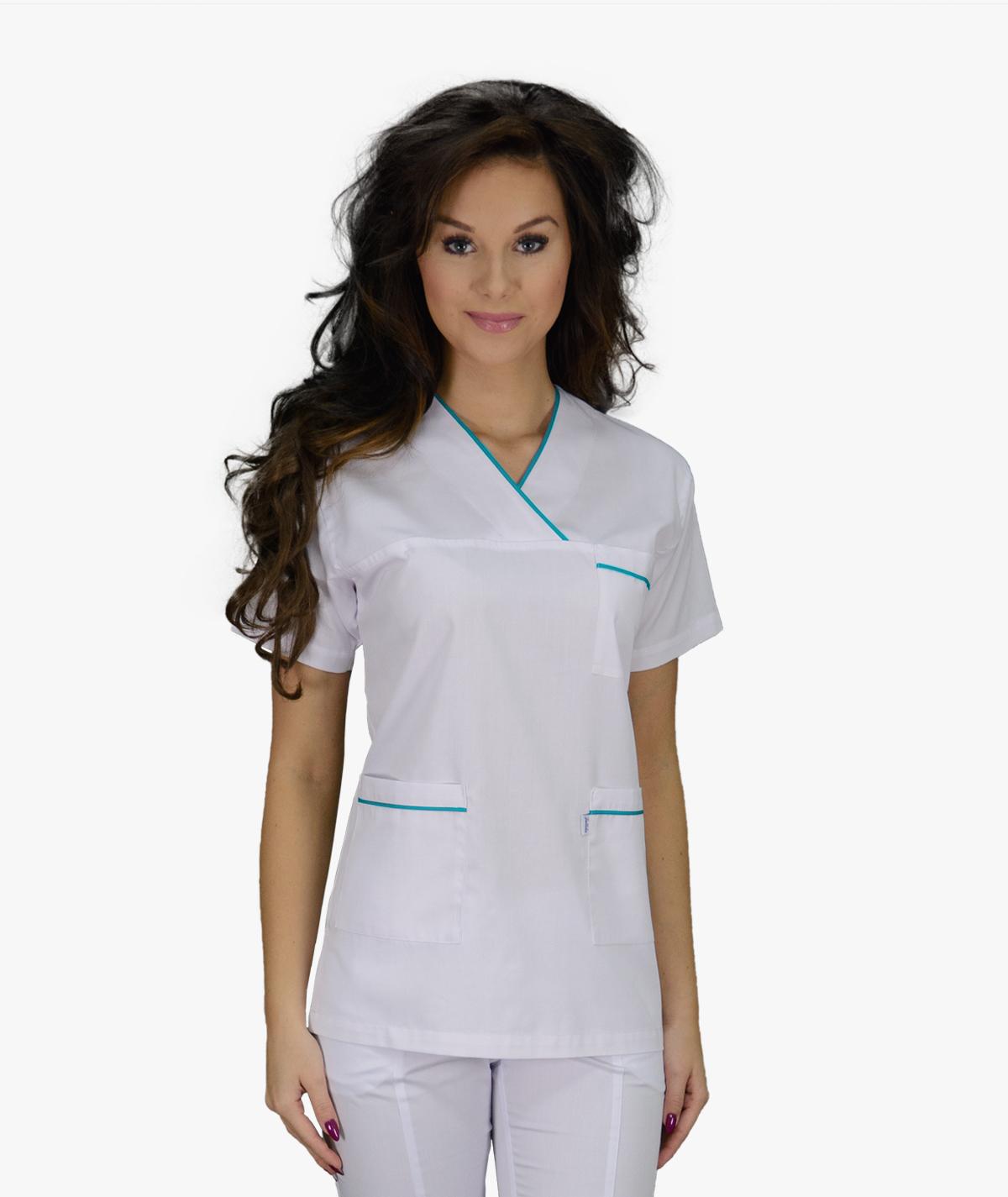 Biała bluza medyczna Wiki