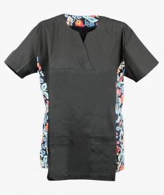 Czarna bluza medyczna Wera