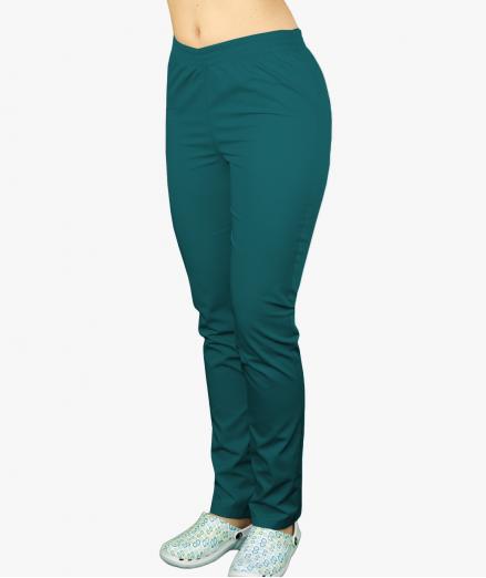 Morskie spodnie medyczne na gumie