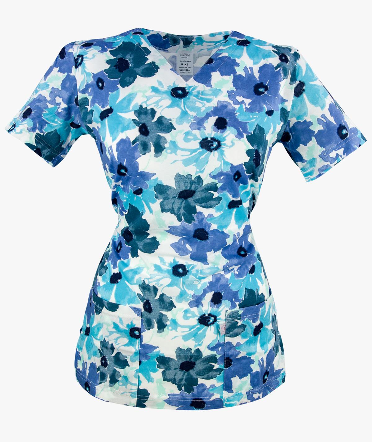 Niebieska bluza medyczna Gabi