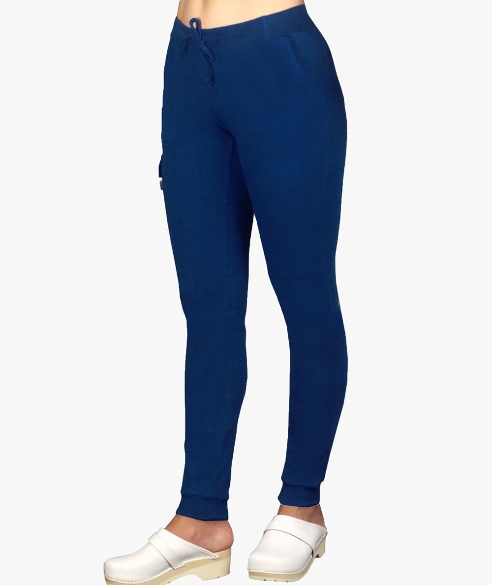 Bawełniane spodnie medyczne damskie bojówki