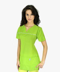 Groszkowa bluza medyczna Ewa