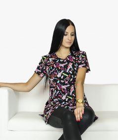 Czarna tunika kosmetyczna Emilka