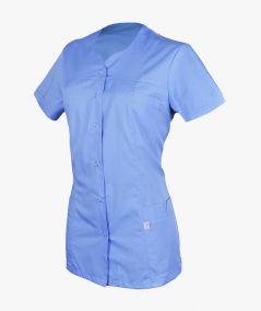 Niebieski żakiet medyczny Regina