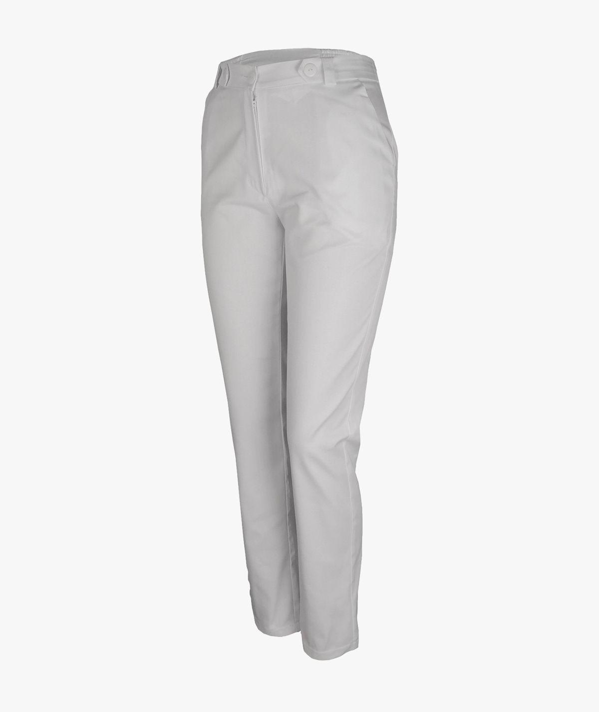 Jasnopopielate spodnie medyczne Mira