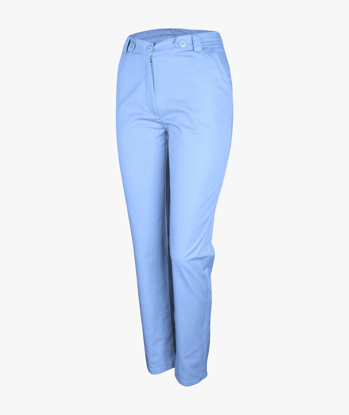 Niebieskie spodnie medyczne Mira