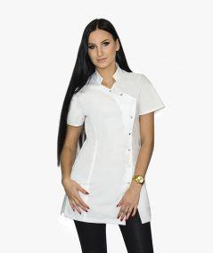 Biała tunika kosmetyczna Samanta
