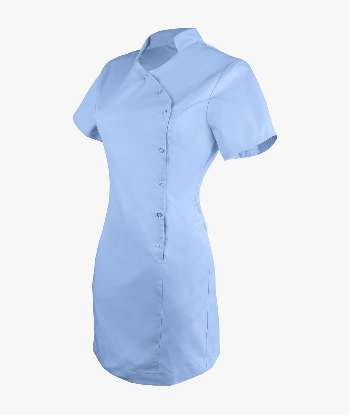 Niebieska sukienka medyczna Sonia