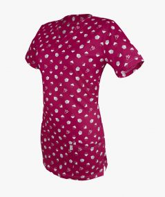 Malinowa bluza medyczna Gabi