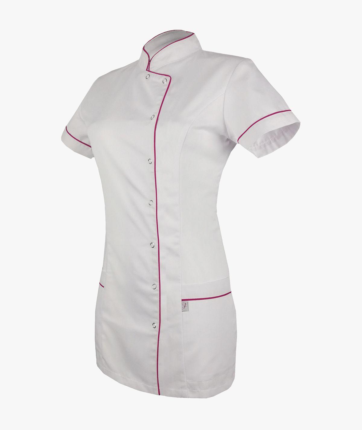 Biała tunika medyczna Basia