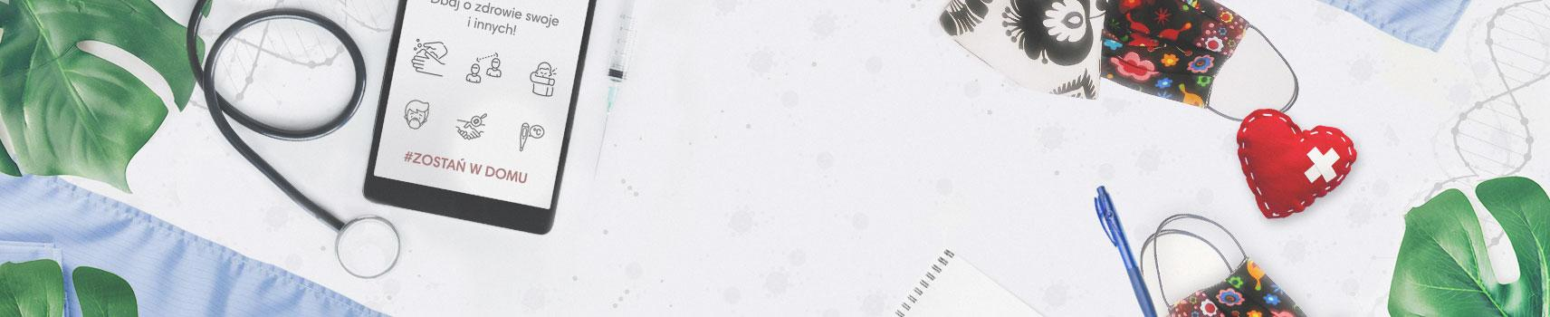 Odzież medyczna damska, kosmetyczna, maski higieniczne - Jullita Fashion Med