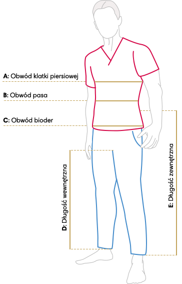 Tabela rozmiarów Jullita Fashion Med